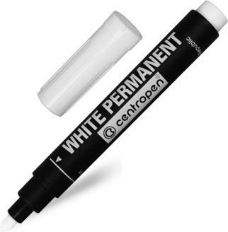 Bílý fix na papír