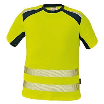 0e5b0bf24bf Triko pracovní ALLYN (vel.XXXL) žluté HV reflexní s krátkým rukávem