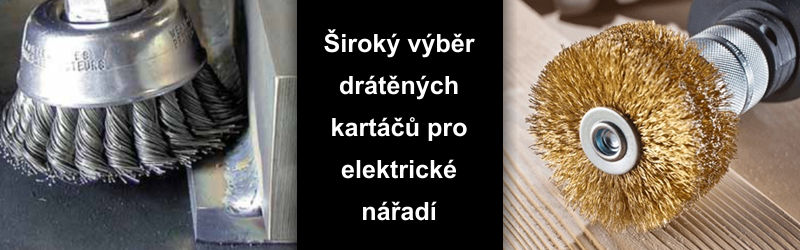 drtěn kartče osborn ručn, do vrtaček, do brusek, ...